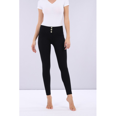 WR.UP® Mid Waist Super Skinny - 7/8 Length - N0 - Svart