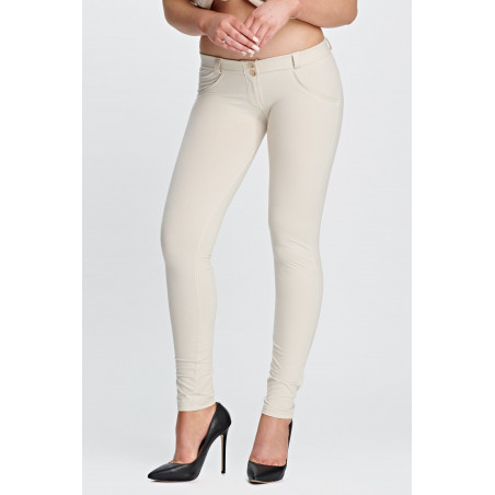 WR.UP® Low Waist Skinny - Z64 - Ljusbeige