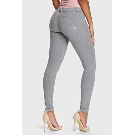 WR.UP® Regular Waist Super Skinny - H40 - Gråmelerad