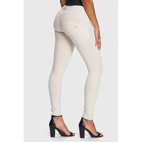 WR.UP® Regular Waist Super Skinny - Z64 - Ljusbeige