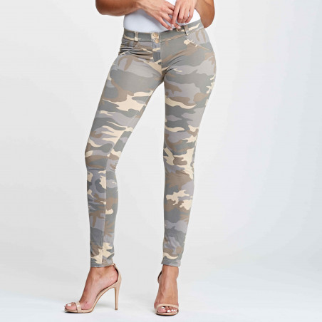 WR.UP® Regular Waist Skinny - Z48M - Ljus Camo