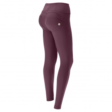 WR.UP® D.I.W.O.® Pro Beauty Effect - High Waist Super Skinny - 7/8 Length - K89 - Burgundy