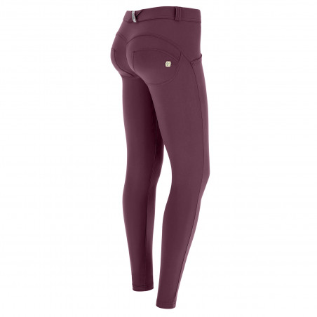 WR.UP® D.I.W.O.® Pro Beauty Effect - Regular Waist Super Skinny - 7/8 Length - K89 - Burgundy