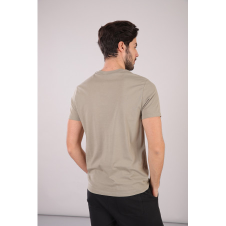 Freddy Man Cotton T-Shirt - V57 - Vetiver Grön