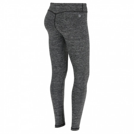 Superfit Leggings - Regular Waist in D.I.W.O.® - N26Q - Gråmelerad