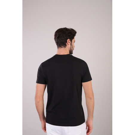 Freddy Man Cotton T-Shirt - N0 - Svart