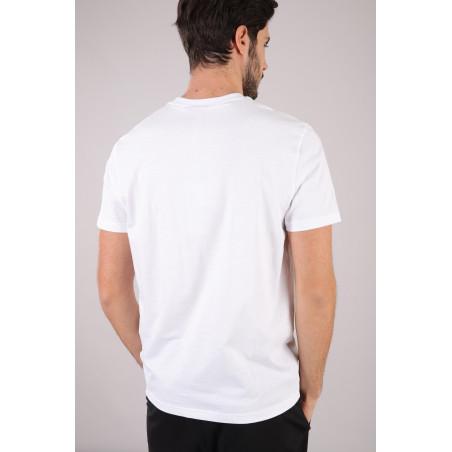 Freddy Man Cotton T-Shirt - W0 - Vit