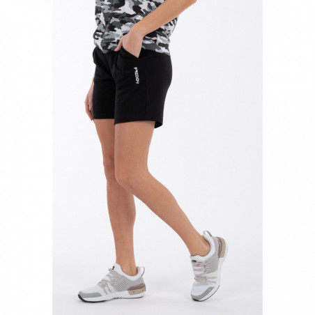 Interlock Bermuda Shorts With Besom Pockets - N - Svart