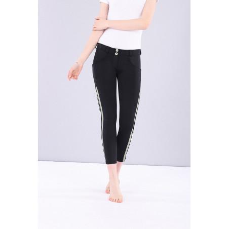 WR.UP® Regular Waist Skinny - Performance Fabric - 7/8 Length - N0 - Svart