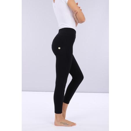 WR.UP® D.I.W.O.® Pro Beauty Effect - High Waist Super Skinny - 7/8 Length - N0 - Svart