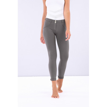 WR.UP® Regular Waist Skinny - Made In Italy Fabric - G55 - Grå