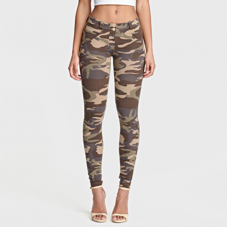 WR.UP® Regular Waist Skinny - M95M - Mörk Camo