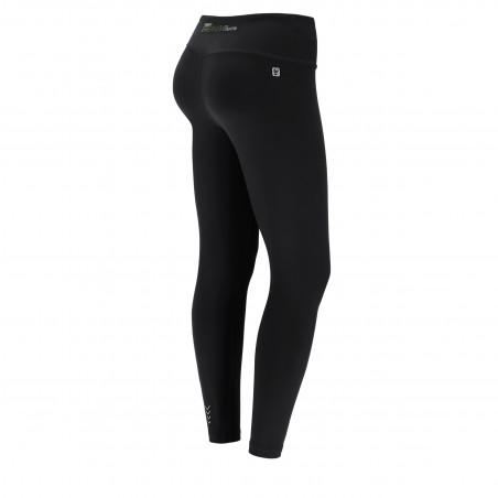 Energy Pants® In D.I.W.O® - High Waist Skinny - 7/8 Length - N - Svart