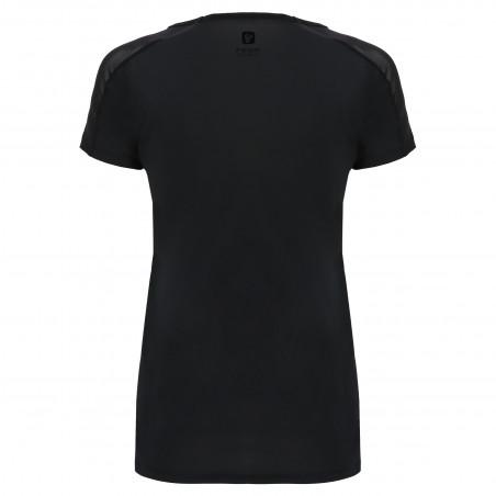 Freddy Performance Fabric T-Shirt - Mesh Inserts - N - Svart