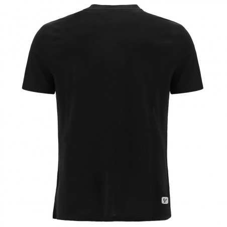 T-Shirt With Printed Logo - N0 - Svart