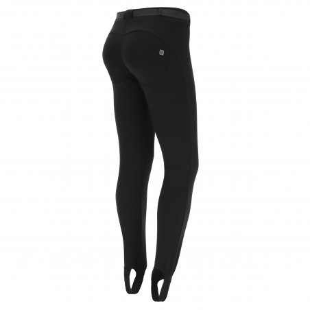 WR.UP® Snow - Ski Trousers With Gaiters - Made In Italy - N - Black