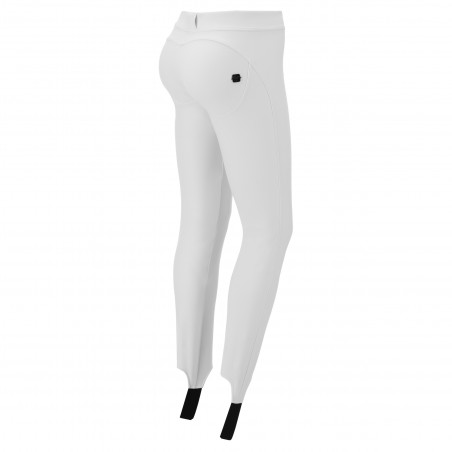 WR.UP® Snow - Ski Trousers With Gaiters - Made In Italy - W - White
