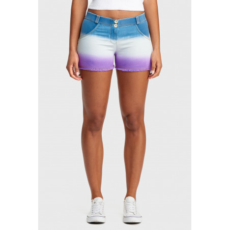 WR.UP® Regular Waist Shorts - Ombre Effect - JWE - Blå/Violett