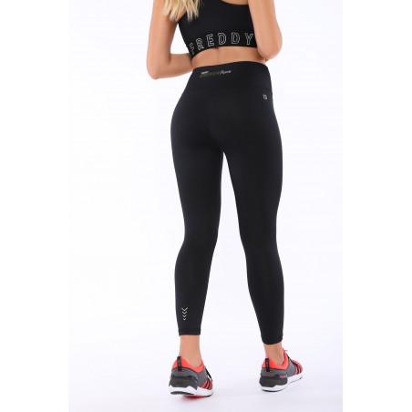 Energy Pants® In D.I.W.O® - High Waist Skinny - 7/8 Length - N - Black