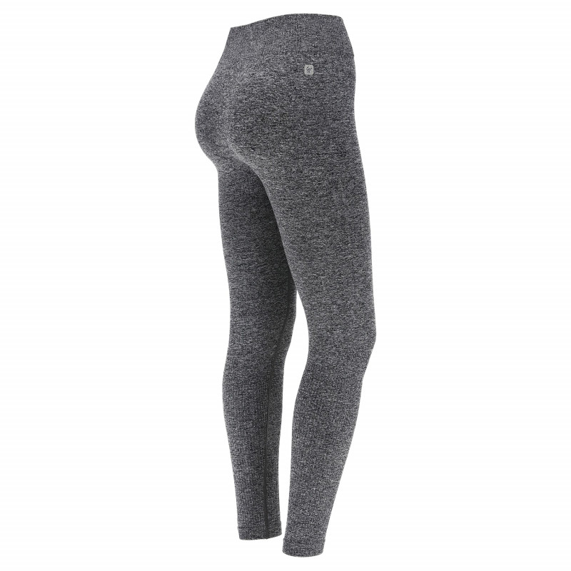 LEGGINGS SUPERFIT 7/8 IN ANIMAL PATTERN D.I.W.O.® WITH SILVER PRINT - G55NAL0 - Grå Tiger