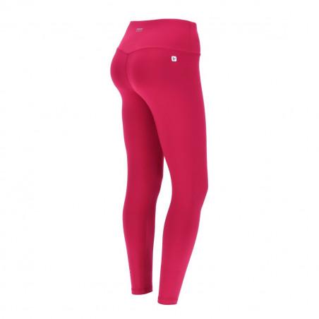Superfit Leggings - High Waist in D.I.W.O.® - 7/8 Length - F58 - Sangria Röd