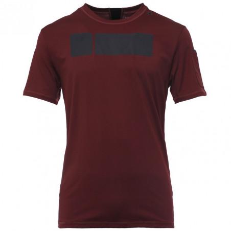 Freddy Man Technical T-Shirt in D.I.W.O.® - K77 - Vinröd