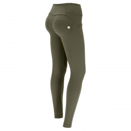 WR.UP® D.I.W.O.® Pro Beauty Effect - Mid Waist Skinny - V21 - Olivgrön