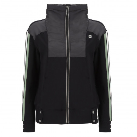 Fleece Jacket - N0 - Svart