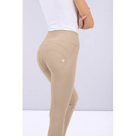 WR.UP® D.I.W.O.® Pro Beauty Effect - High Waist Super Skinny - 7/8 Length - Z10 - Sandbeige