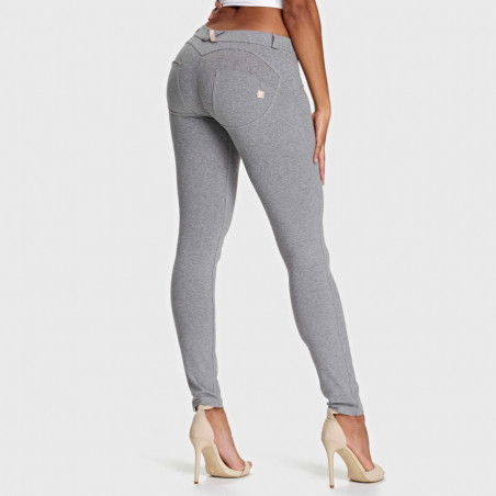 WR.UP® Low Waist Skinny - H40 - Gråmelerad