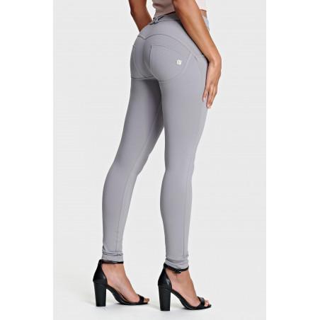 WR.UP® Regular Waist Skinny - Special Made In Italy Fabric - G36 - Silvergrå